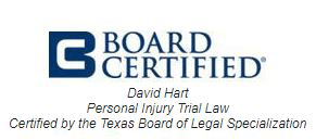 Logo Recognizing The Hart Law Firm's affiliation with Board Certified